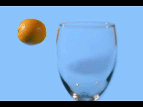 Stop-Motion Orange Juice