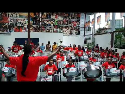 Len Boogsie sharp & the Phase 2 Junior steel Orchestra 2019. We thank you.