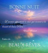 BONNE NUIT FAITES DE BEAUX RÊVES