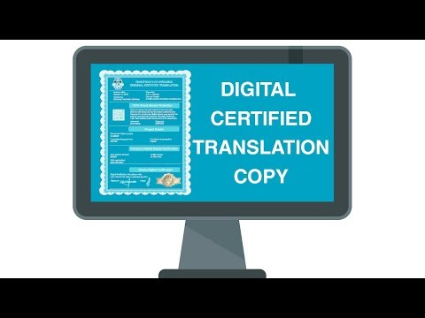 Certified Translations: How to get a hard copy in minutes (new, innovative and easy)