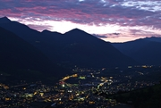 Brixen by night