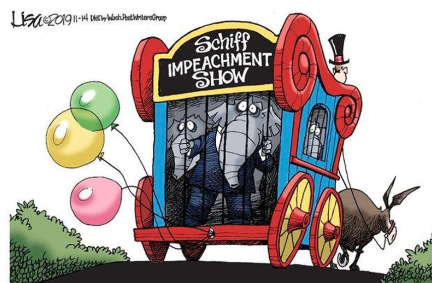 Impeachment Circus carries on