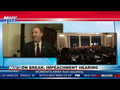"""IMPEACHMENT CHARADE"": Rep. Lee Zeldin (R-NY) GOES OFF about hearing"