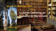 La Sainte-Catherine au Domaine de Mariemont