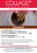 Ceramics with Claudia Claire - Processes of making a pot - Demonstration