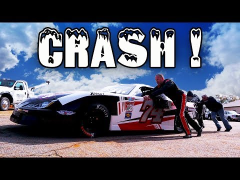 Stock Car Crash- Lanier National 200 Oval Track Racing