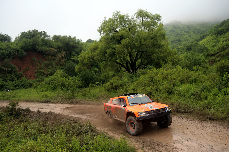 2016 Dakar Robby Gordon Stage 3