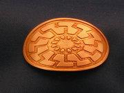 Negative Etched Sun Wheel