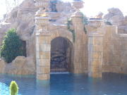 Pool, weir doorway