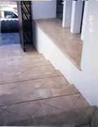 Estamp floor