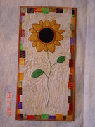 Embroidered Painted Sunflower front