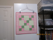 Four Patch Doll Quilt