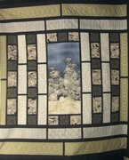 wedding quilt quilted 2