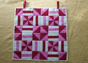 Peppermint Square wall hanging
