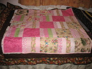 Comfort quilt for cancer victim