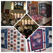 Coshocton Canal Quilter Quilt Show ceremony 2015