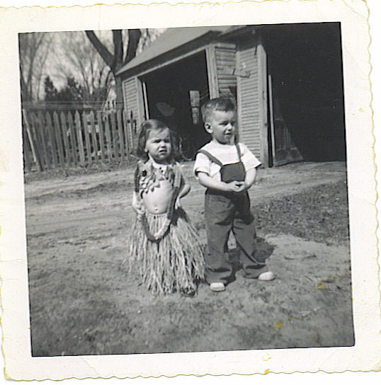 Tom and Pam 1950 or 1951