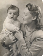 Adriana Colombo Ferrigno with daughter