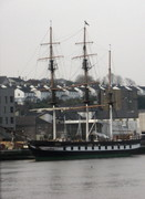 Irish Famine Ship - replica