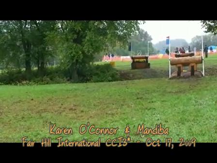 Karen O'Connor & Mandiba_ XC_Fair Hill CCI3*
