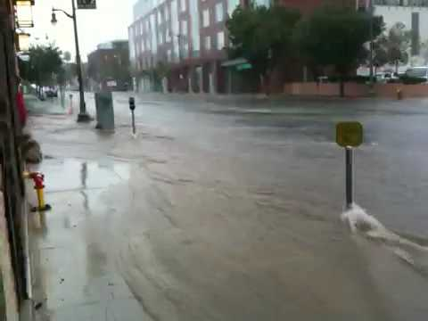 7th st San Pedro,ca turns into river