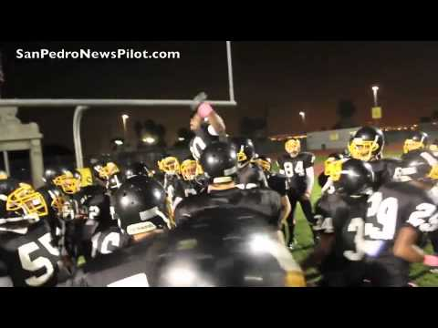 San Pedro High School Homecoming Football game against Gardena on October  21, 2011