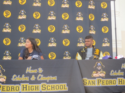 San Pedro High School Double Signing Day Ceremony 2017