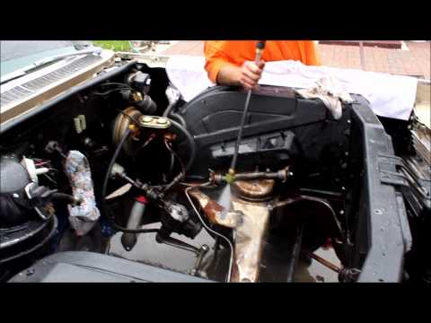 Cleaning 64 Caddy Engine Bay - May 12, 2012