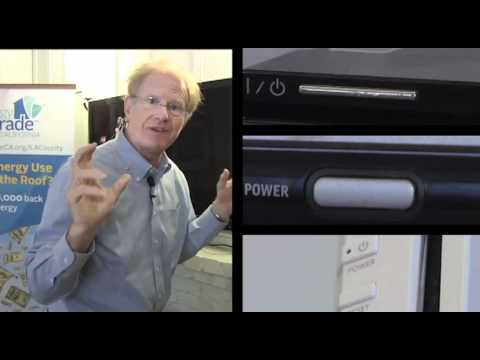 Ed Begley, Jr. Energy Efficiency Tips: Vampire Power Episode
