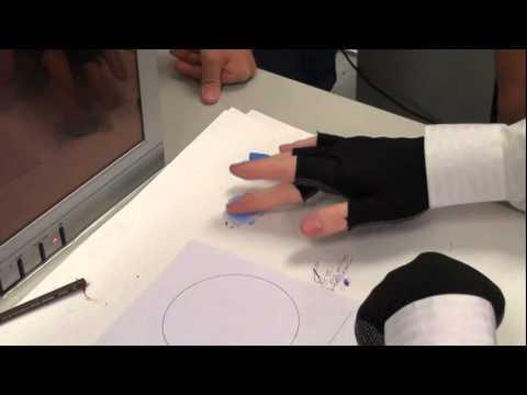 韓玉青老師教學示範-德國Faber粉彩與色鉛基礎練習-實踐大學推廣