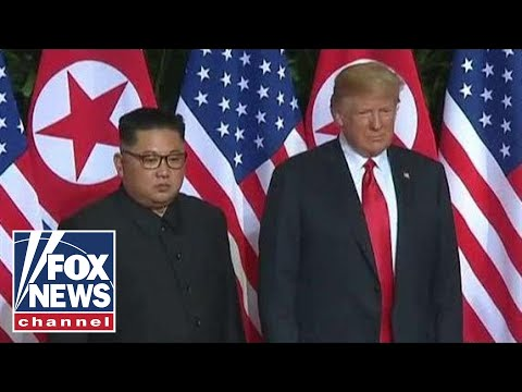 Trump holds news conference after summit with Kim Jong Un