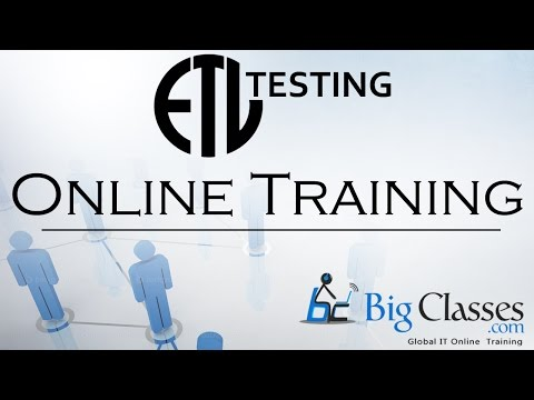 ETL Testing Tutorials For Beginners   ETL Testing Videos