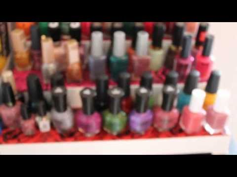 DIY Cheap easy and inexpensive nail polish stand for storage