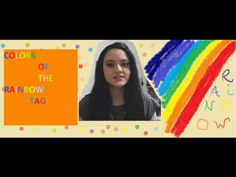Colors of the Rainbow TAG - Requested Video !!!