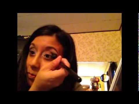 Flapper Eye Makeup Tutorial And Review On EM Michelle Phan Cosmetics