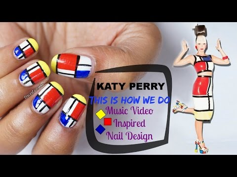 Katy Perry This is how we do Inspired NAILART