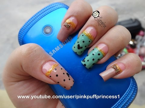 Mickey Mouse Inspired Nail Art Tutorial For Anna Shattila