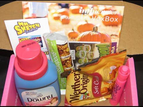 Open Box Haul Featuring The Pumpkin VoxBox From Influenster