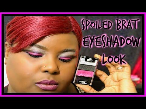 Spoiled Brat Eye shadow Look By Wet n Wild