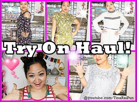 Spring/Summer TRY ON HAUL - Koovs, Jabong, Zara, Chumbak I Tina Rai Pun
