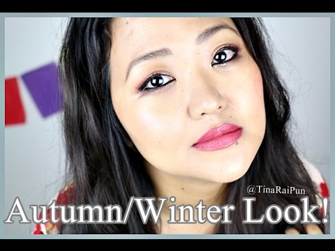 Autumn/Winter Plum Bronze Makeup Tutorial - Tina Rai Pun