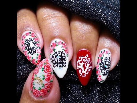 Tattooed LOVE Nails