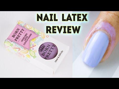 BPS Peel Off Nail Latex REVIEW || DenDiva