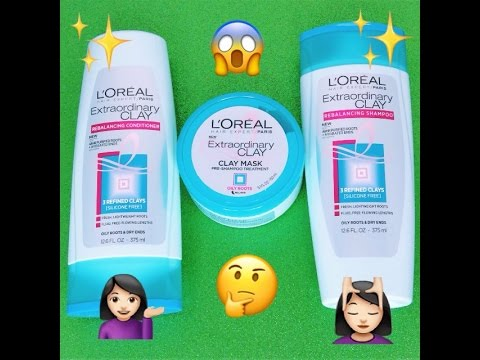 Unboxing Haul & Review Featuring L'Oreal Extraordinary Clay Voxbox From Influenster