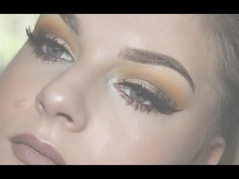 Fall leaves inspired makeup tutorial / Sminka 'Jesenje lisce'