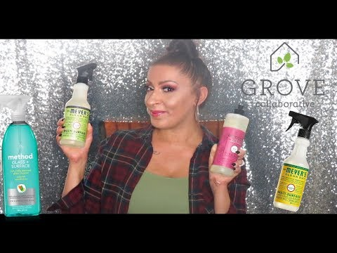 Grove Collaborative UNBOXING HAUL + Favorite Natural Cleaning Products