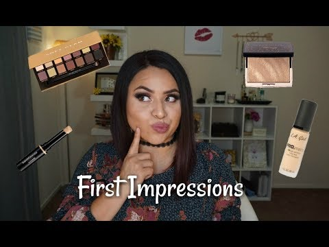 First Impressions| ABH, BareMinerals, LA Girl | Nancy
