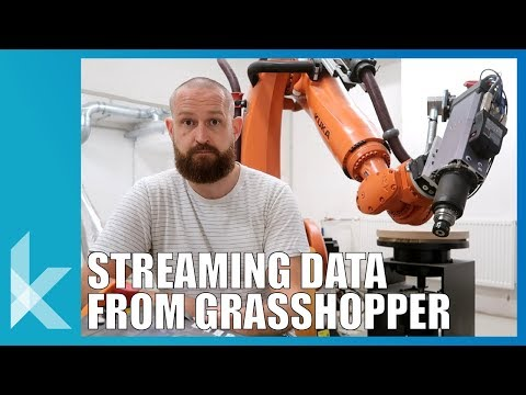 How to Stream Data to and from Grasshopper Tutorial