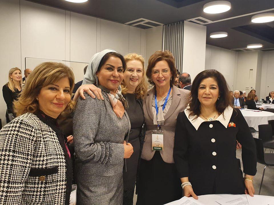 ملتقى سيدات الاعمال يشارك في الملتقى الأول لسيدات أعمال أوروبا والدول العربية