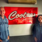 Hayley Verrall at Cool 100.1 FM October 2019